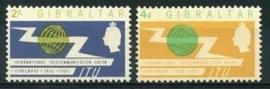 Gibraltar , michel 169/70 , x