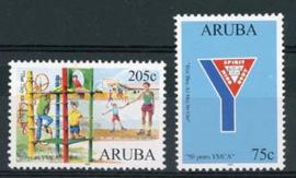 Aruba, nvph 358/59, xx