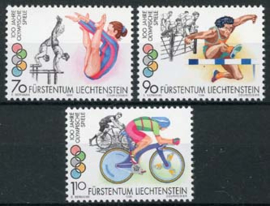 Liechtenstein, michel 1129/31, xx
