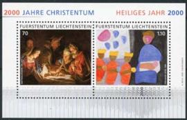 Liechtenstein, michel blok 17, xx