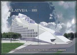 Letland, michel blok 19, xx