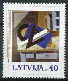 Letland, michel 603, xx