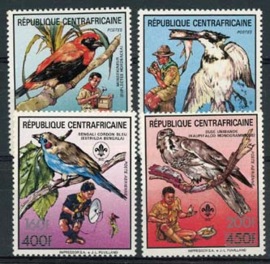 Centrafricain, michel 1348/51, xx