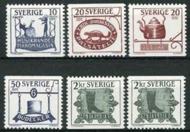 Zweden, michel 1342/46, xx