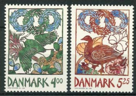 Denemarken, michel 1207/08, xx