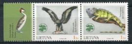 Litouwen, michel 853/54, xx