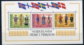 Faroer, michel blok 1, xx