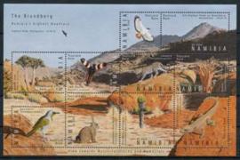 Namibie, michel kb 1305/14, xx