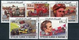 Mauretanie, michel 749/53, xx