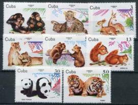 Cuba, michel 2439/46, xx