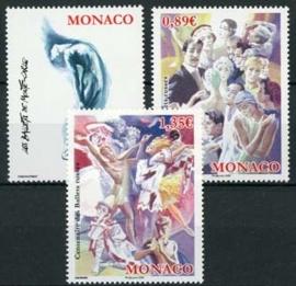 Monaco, michel 2942/44, xx
