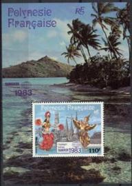 Polynesie, michel blok 8, xx