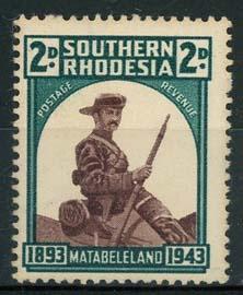 S.Rhodesie, michel 63, xx