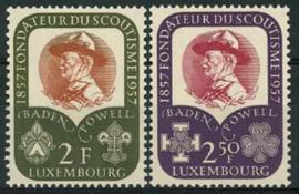 Luxemburg, michel 567/68, xx