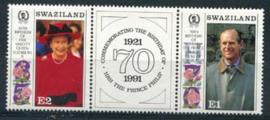 Swaziland, michel 592/93, xx