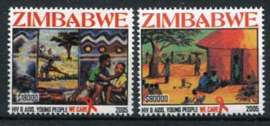 Zimbabwe, michel 830/31, xx