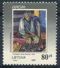 Litouen, michel 544 , xx