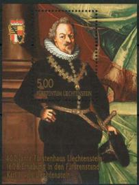 Liechtenstein, michel blok 18 A, xx