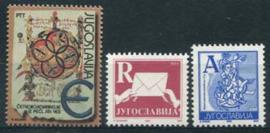 Joegoslavie, michel 3082 A/B/C, xx