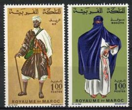 Marokko, michel 597/98, xx
