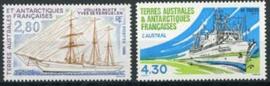 Antarctica Fr., michel 344/45, xx
