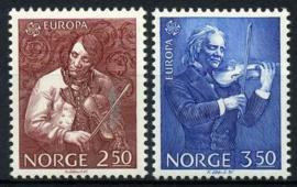 Noorwegen, michel 926/27, xx