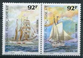 Polynesie Fr., michel 731/32, xx