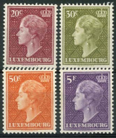 Luxemburg, michel 586/89, xx