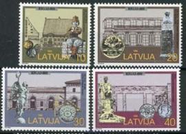 Letland, michel 481/84, xx