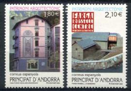 Andorra Sp., michel 291/92, xx