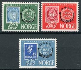 Noorwegen, michel 393/95, x