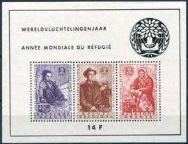 Belgie, obp blok 32, xx