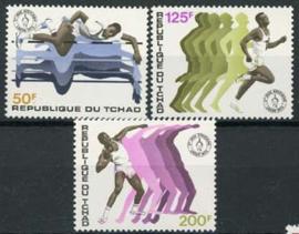 Tchad, michel 650/52, xx