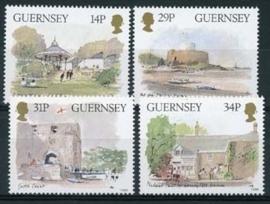 Guernsey, michel 369/72, xx