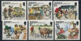 Jersey, michel 553/58, xx