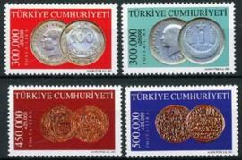 Turkije, michel 3285/88, xx