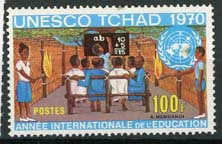 Tchad, michel 298, xx