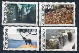 Zimbabwe, michel 826/29, xx