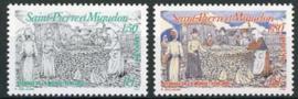 St.Pierre , michel 673/74, xx