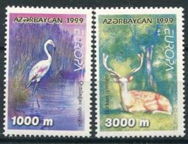 Azerbaidjan, michel 442/43, xx
