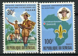 Senegal, michel 439/40, xx