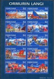 Faroer, michel 562/71, xx