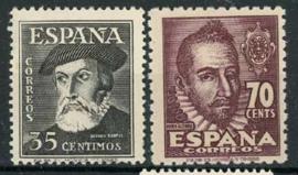 Spanje, michel 953/54, xx