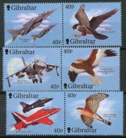 Gibraltar, michel 978/83, xx