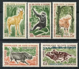 Ivoorkust, michel 251/54 + 57, xx
