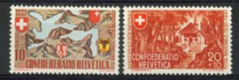 Zwitserland, michel 396/97, xx