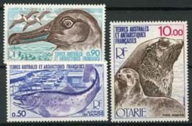 Antarctica Fr., michel 117/19, xx