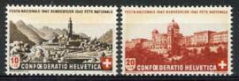 Zwitserland, michel 420/21, xx