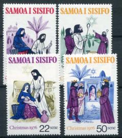 Samoa, michel 342/45, xx
