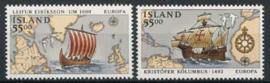 IJsland, michel 762/63, xx